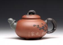 宜兴紫砂壶-松竹梅-三色泥-范国歆