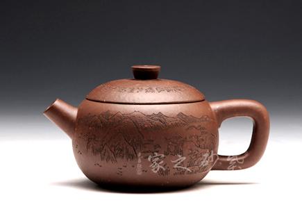 宜兴紫砂壶精品馆作品-顾勤-宝儿壶