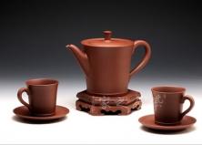 五头线钟茶具