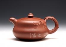 宜兴紫砂壶-葫韵-原矿底槽青-谈跃伟