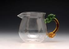 龙把玻璃公道杯