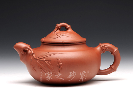 宜兴紫砂壶-祝福 (-钱群兰