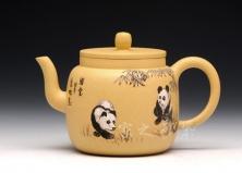 高隐壶(熊猫)