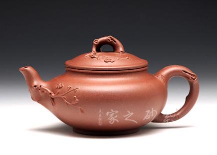 宜兴紫砂壶-咏梅-周芳军