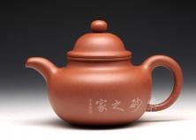 宜兴紫砂壶-掇只-原矿清水泥-潘晓波