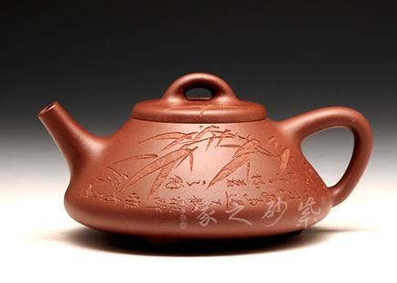 宜兴紫砂壶精品馆作品-吴建平-石瓢