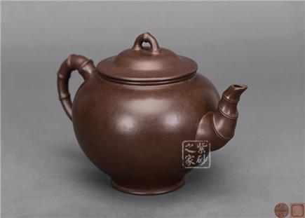 大型竹节咖啡壶