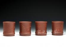 梅兰竹菊组杯