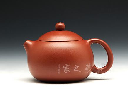 宜兴紫砂-西施(大红袍)-大红袍-许智萍