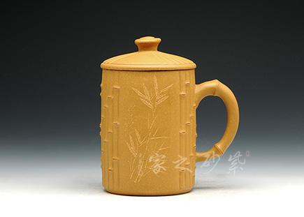段泥竹节杯