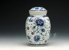 茶叶罐(七彩)
