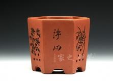 小六方花盆(瘦)