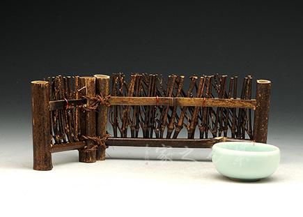 天然竹篱笆屏风