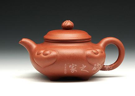 宜兴紫砂壶全手工作品-喻小芳-四方如意