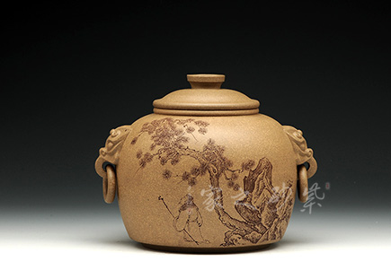 茶叶罐(亭松)