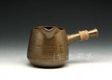 日式粗陶公道杯
