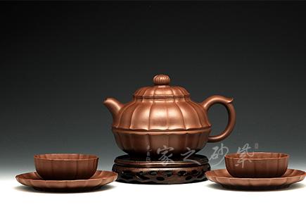 五头合菱茶具