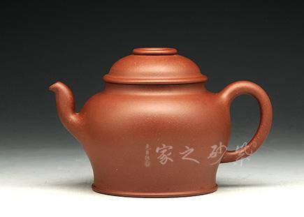 宜兴紫砂-唐韵壶-原矿底槽青-储峰