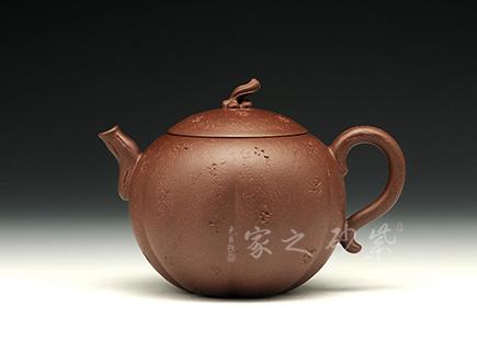 宜兴紫砂-金瓜(紫泥)-原矿紫泥-储峰