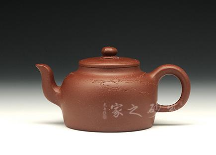 智远壶(紫泥调砂)