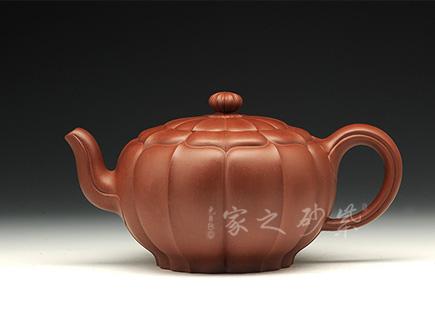 玉带菱花壶 (16全手一