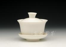 玉瓷盖碗(大)
