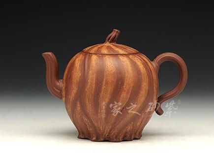 宜兴紫砂-金瓜(底槽青)-原矿底槽青-储峰