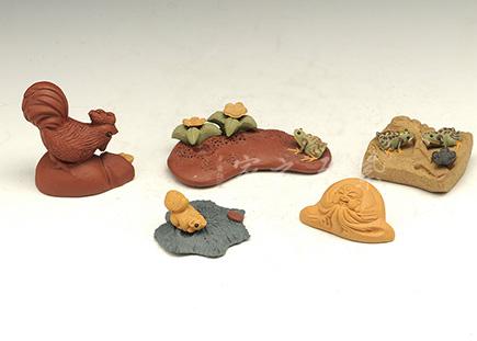 紫砂周边-超小雕塑-紫砂泥-雕塑摆件