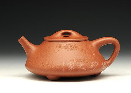 宜兴紫砂壶-石瓢-降坡泥-钟新明