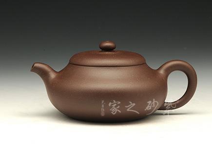 宜兴紫砂壶-福古-原矿紫泥-吴小平