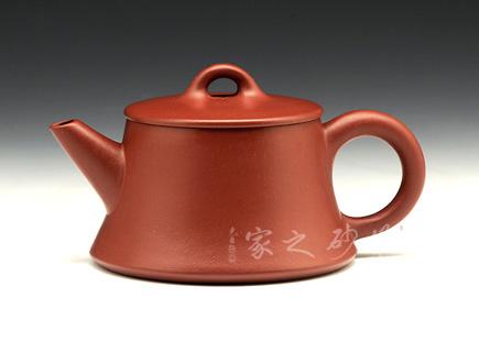 宜兴紫砂壶-红颜知己壶-原矿朱泥-崔龙君