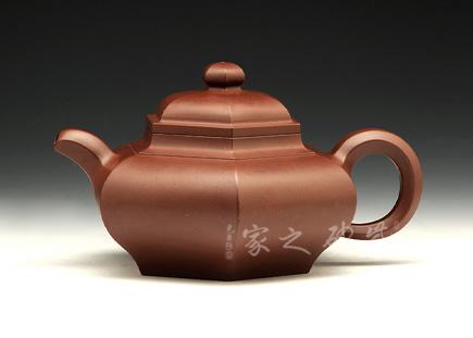 宜兴紫砂壶-硕方壶-原矿底槽青-庄玉林