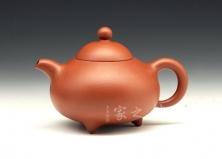 红小香泉壶