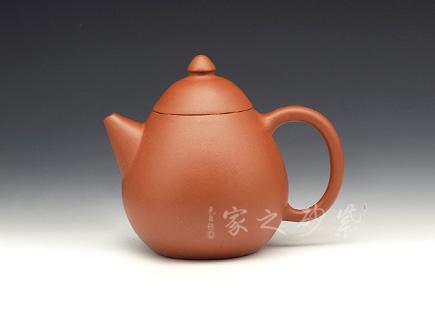 宜兴紫砂壶-龙旦-原矿红泥-高旭峰