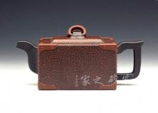 宜兴紫砂壶收藏作品-银箱-孔小明