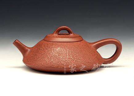 宜兴紫砂壶-东坡石瓢-原矿清水泥-卢建国