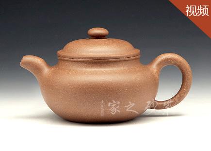 宜兴紫砂壶-仿古(全手)-原矿段泥-潘国良