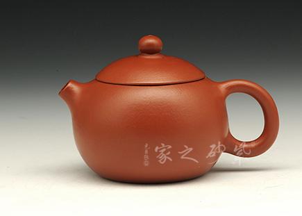 宜兴紫砂-西施-原矿朱泥-王涛