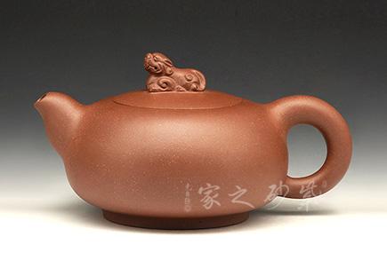宜兴紫砂壶-瑞兽-周玉霞