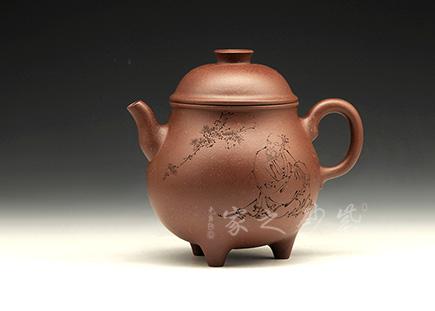 宜兴紫砂壶--刘华