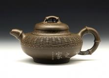 巧竹成器壶