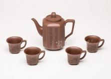 五头高八方茶具套组