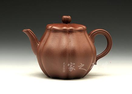 宜兴紫砂壶-高思壶-原矿底槽青-朱彬
