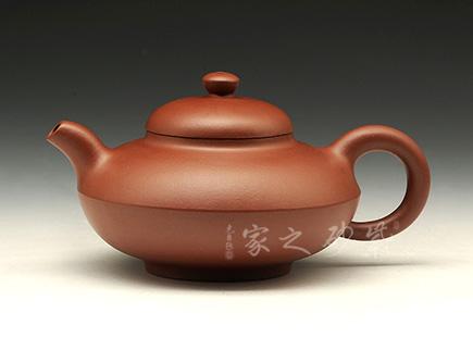 宜兴紫砂壶-合欢-原矿清水泥-杨雅玫