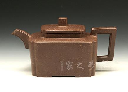 宜兴紫砂-传香壶-原矿紫泥-章杰