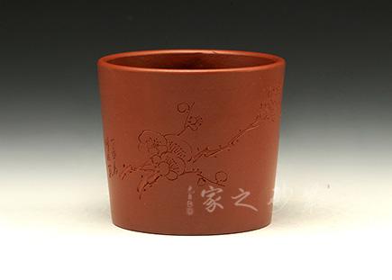 宜兴紫砂壶-品茗杯-原矿朱泥-杨小泉