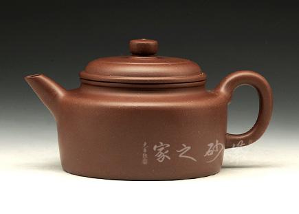 宜兴紫砂壶-德钟-原矿紫泥-杨雅玫