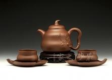 五头葫芦茶具