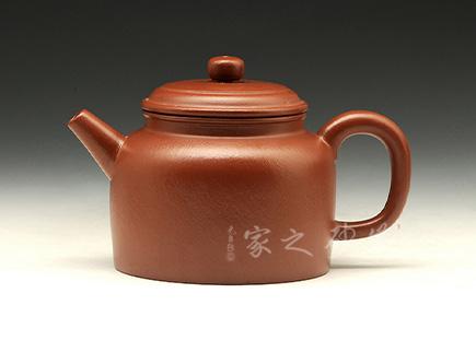 宜兴紫砂壶-高德钟-大红袍-周勇生