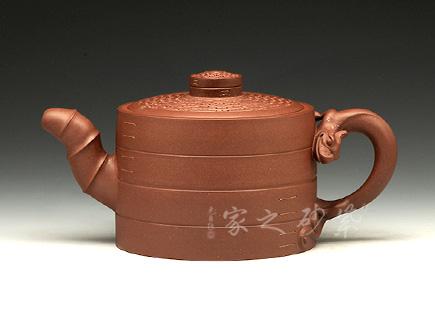 宜兴紫砂壶-真龙壶(金奖)-原矿底槽青-范顺君